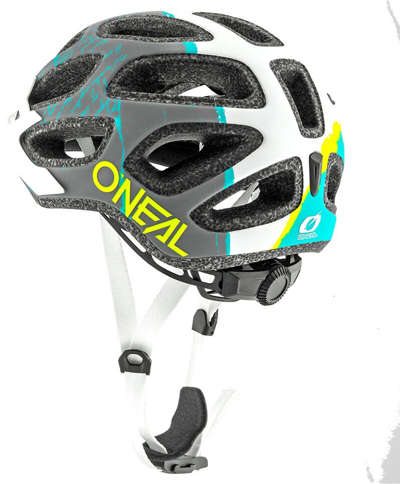 03b0f541967b0 ONeal Thunderball 2.0 casco per bici Fusion grigio bianco su Bikester